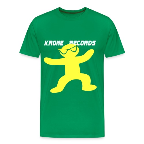 T-shirt Green To Yellow - Men's Premium T-Shirt