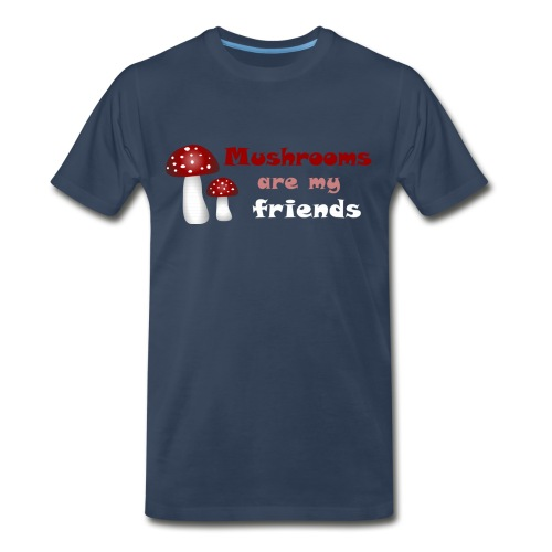 funny t-shirt mushroom random - Men's Premium T-Shirt