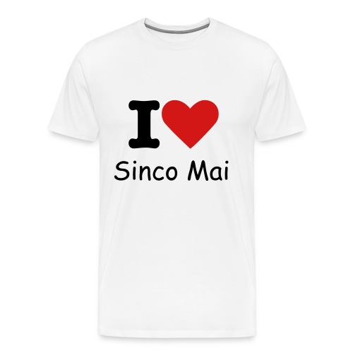 I Love Sinco Mai Male - Men's Premium T-Shirt
