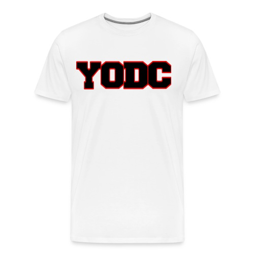 Collegiate version 2 White - Men's Premium T-Shirt