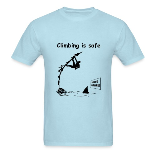 Climbing T-shirt - Deep Water Solo  - Men's T-Shirt