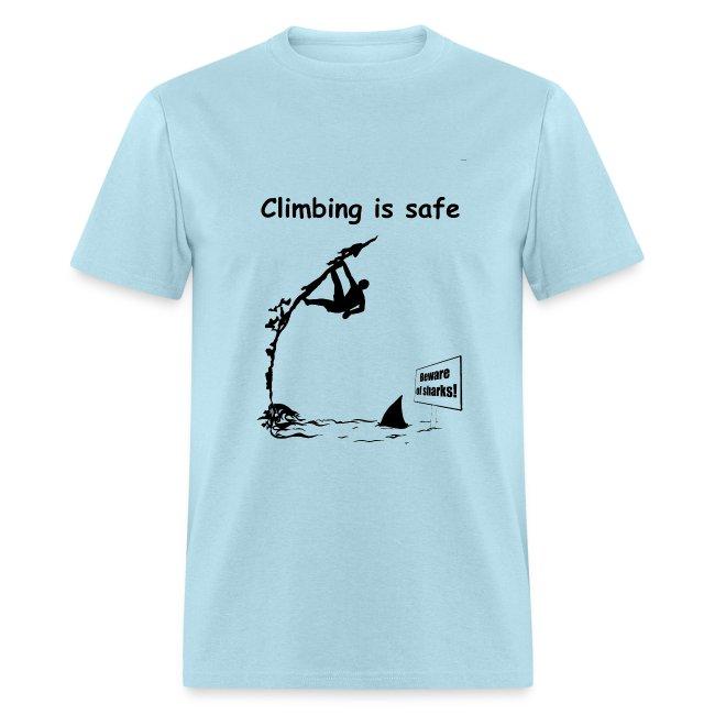 Climbing T-shirt - Deep Water Solo