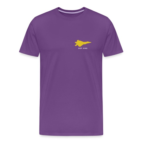 JMU   Detachment 890   Heavyweight - Men's Premium T-Shirt
