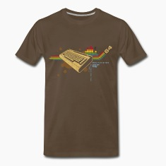 Brown collage64 T-Shirts