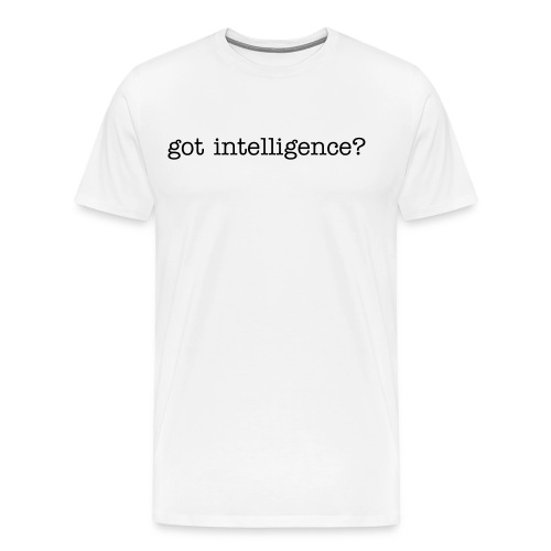 urban hippie- intelligence T - Men's Premium T-Shirt