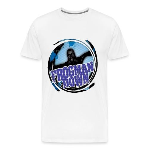 Frogman Swirl Basic Men's T-Shirt - Men's Premium T-Shirt