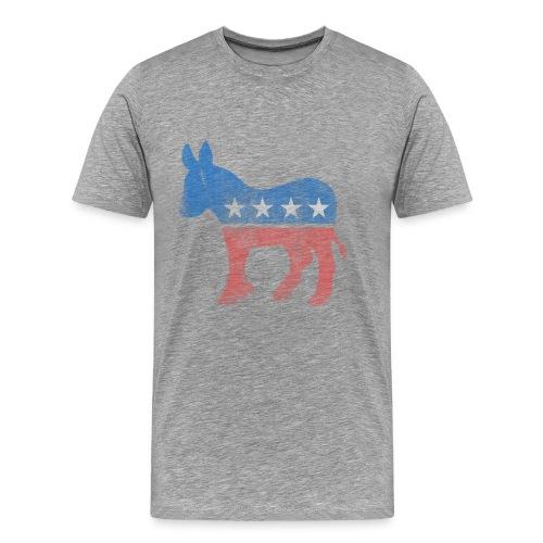 Republican-Distressed retro - Men's Premium T-Shirt