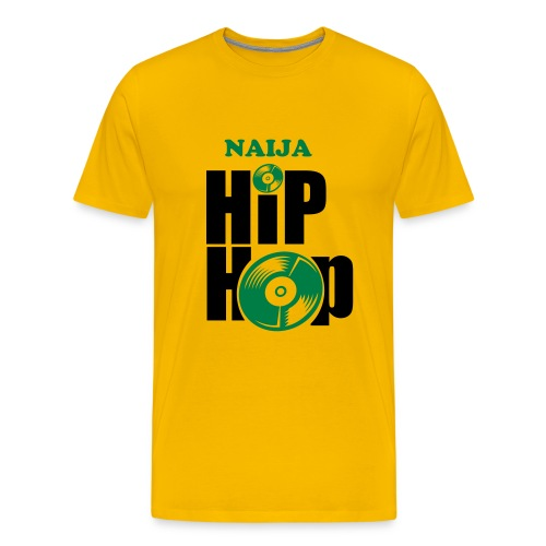 Naija Hip Hop - Men's Premium T-Shirt