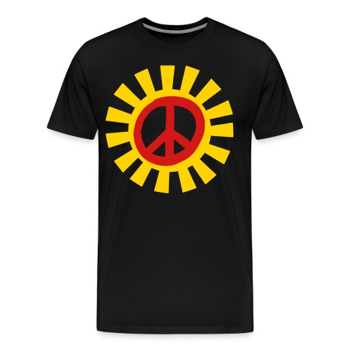 Peace and Sunshine Tee - Men's Premium T-Shirt