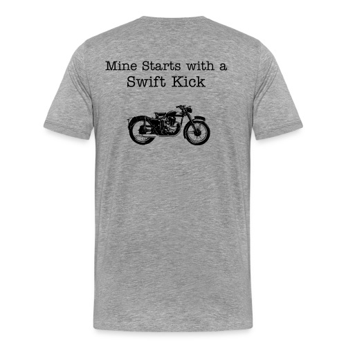 Ash Vintage Bike - Men's Premium T-Shirt