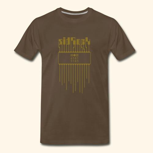 sidRock (gold) - Men's Premium T-Shirt