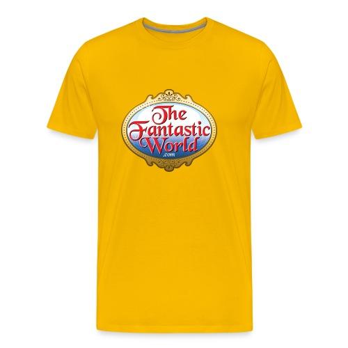 The Fantastic World Logo - Men's Premium T-Shirt