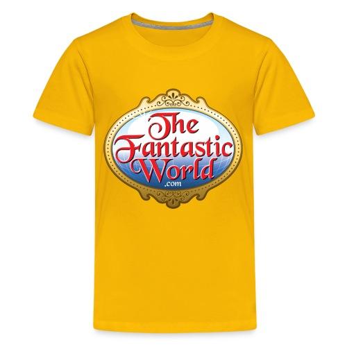 The Fantastic World Logo - Kids' Premium T-Shirt