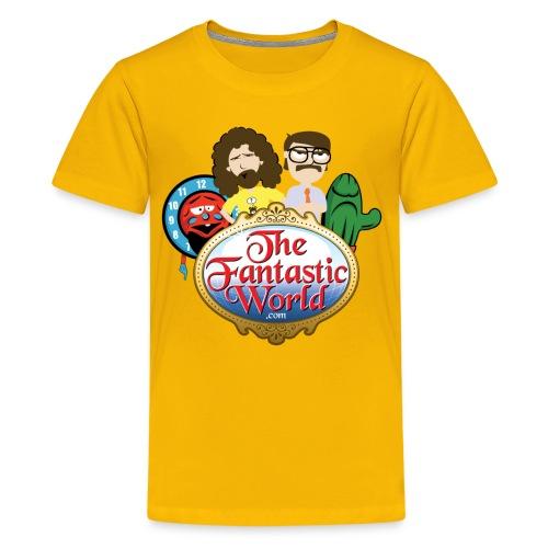 Logo and Friends - Kids' Premium T-Shirt