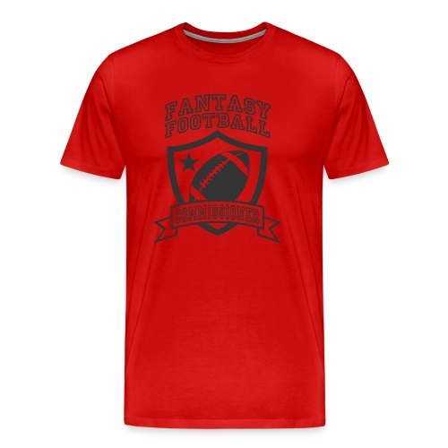 Fantasy Football COMMISSIONER T-shirt  - Men's Premium T-Shirt