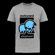 T-Shirts ~ Men's Premium T-Shirt ~ Awkward Elephant