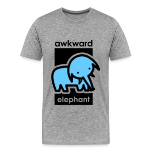 Awkward Elephant - Men's Premium T-Shirt