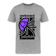 T-Shirts ~ Men's Premium T-Shirt ~ Awkward Jellyfish