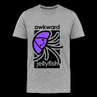 T-Shirts ~ Men's Premium T-Shirt ~ Awkward Jellyfish