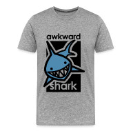 T-Shirts ~ Men's Premium T-Shirt ~ Awkward Shark