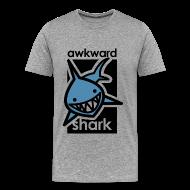 T-Shirts ~ Men's Premium T-Shirt ~ Awkward Shark
