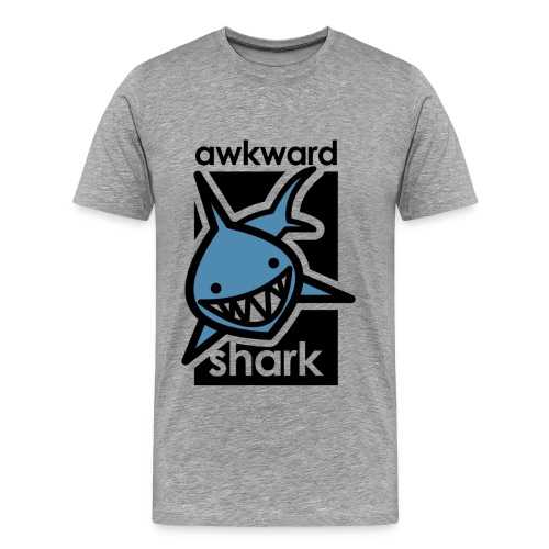 Awkward Shark - Men's Premium T-Shirt