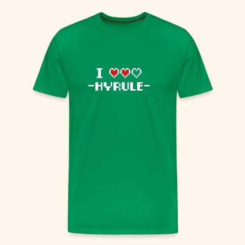 I Love Hyrule - Men's Premium T-Shirt