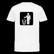 T-Shirts ~ Men's Premium T-Shirt ~ Men's White T - fubar Recycle