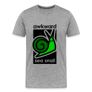 T-Shirts ~ Men's Premium T-Shirt ~ Awkward Sea Snail