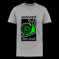 T-Shirts ~ Men's Premium T-Shirt ~ Awkward Sea Snail