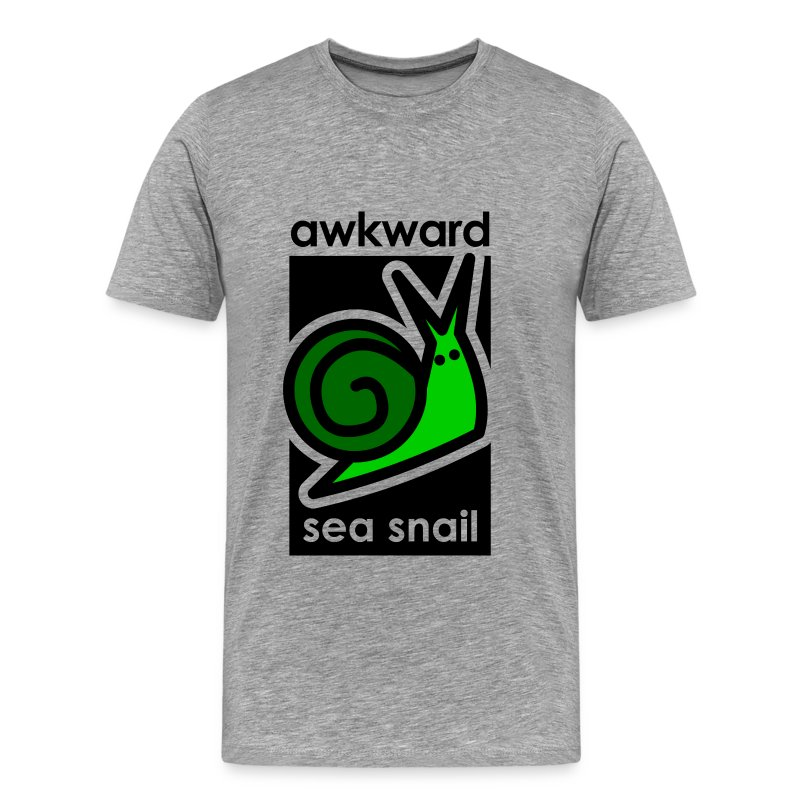 Awkward Sea Snail - Men's Premium T-Shirt