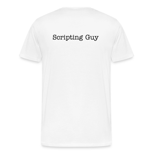 Scripting Guy - Men's Premium T-Shirt