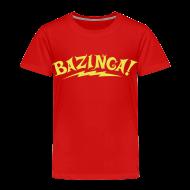 Baby & Toddler Shirts ~ Toddler Premium T-Shirt ~ BAZINGA T-Shirt Sheldon Toddler - New!