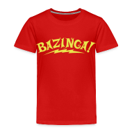 Baby & Toddler Shirts ~ Toddler Premium T-Shirt ~ BAZINGA T-Shirt Sheldon Toddler - New!