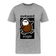 T-Shirts ~ Men's Premium T-Shirt ~ Awkward Eagle