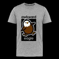 T-Shirts ~ Men's Premium T-Shirt ~ Awkward Eagle
