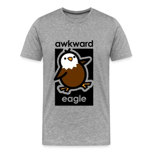 Awkward Eagle - Men's Premium T-Shirt