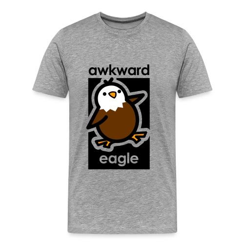Awkward Eagle - Men's Premium T-Shirt