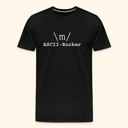 ASCII-Rocker - Men's Premium T-Shirt