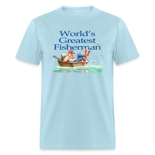 World's Greatest Fisherman - Men's T-Shirt
