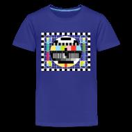 Kids' Shirts ~ Kids' Premium T-Shirt ~ TV PATTERN T-Shirt - Sheldon Cooper Child Costume