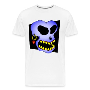 Captain BLUE SKULL t-shirt - Men's Premium T-Shirt