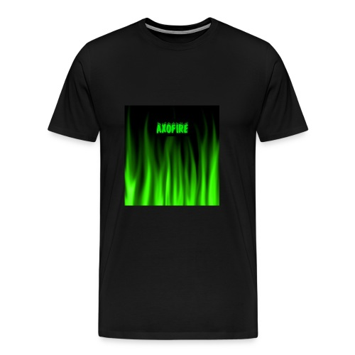 greenflamewithlogo - Men's Premium T-Shirt