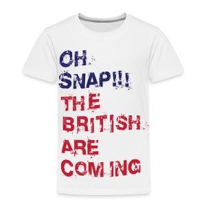 Oh Snap Boston Toddler T-Shirt - Toddler Premium T-Shirt
