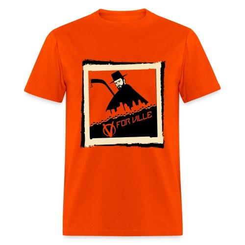 V for Ville - Men's T-Shirt