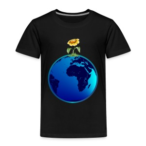 Earth N Flower - Toddler Premium T-Shirt