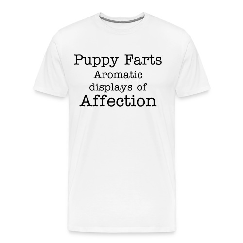 Puppy farts - Men's Premium T-Shirt