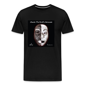Limited edition 2Faced: The Devil's Advocate Men's Tee - Men's Premium T-Shirt