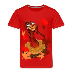 Goofy Thanksgiving Turkey - Toddler Premium T-Shirt