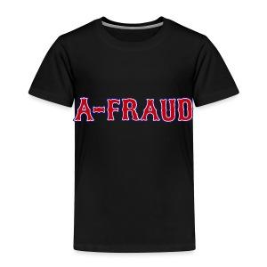 A-Fraud Sox Style Toddler T-Shirt - Toddler Premium T-Shirt